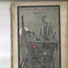 Libros antiguos: PEQUEÑOS POEMAS EN PROSA. CARLOS BAUDELAIRE. Lote 118182551