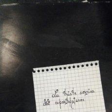 Libros antiguos: LA TRISTE SONRISA DEL ESPANTAPAJAROS. POEMAS. JUAN AFAN MUÑOZ.. Lote 118238999