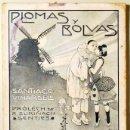 Libros antiguos: VINARDELL, SANTIAGO - PLOMAS Y BOLVAS - BARCELONA 1904 - 1ª ED.. Lote 118988904