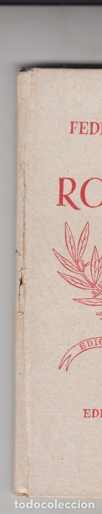 Libros antiguos: FEDERICO GARCIA LORCA ROMANCERO GITANO NUESTRO PUEBLO 1938 - Foto 4 - 54881378