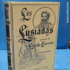 Libros antiguos: LOS LUSIADAS. POEMA ÉPICO EN DIEZ CANTOS.- LUIS DE CAMOENS. Lote 119276631