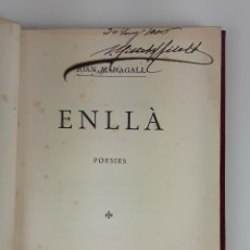 Libros antiguos: ENLLÀ. POESIES. JOAN MARAGALL. BARCELONA. 1906.. Lote 121007691