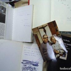 Libros antiguos: 4 LIBROS Y 1 DOCUMENTO FIRMADO POR EL POETA LUIS ROSALES MUY RARO. Lote 121144723