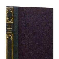 Libros antiguos: EL BERNARDO, POEMA HEROICO / LA ARAUCANA / EL DIABLO MUNDO. IMPRENTA DE GASPAR Y ROIG EDITORES, 1852. Lote 121216338