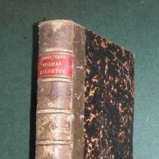 Alte Bücher - OBRAS DE WILLIAM SHAKSPEARE (SHAKESPEARE) I: POEMAS Y SONETOS (1872) - 122460567