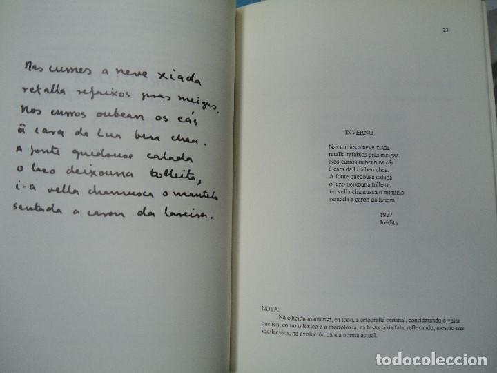 Libros antiguos: OBRA EN GALEGO DE FRANCISCO XAVIER SÁNCHEZ CANTÓN 1991 INTRO. FILGUEIRA VALVERDE - Foto 5 - 123700731