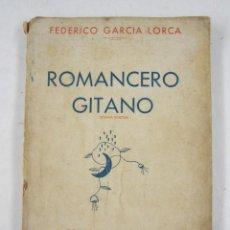 Libros antiguos: ROMANCERO GITANO, FEDERICO GARCIA LORCA, ESPASA-CALPE, 1936, MADRID. 14,5X20,5CM. Lote 124015363