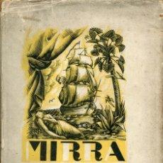 Libros antiguos: MIRRA-VENTURA GASSOL- 1931. Lote 125076307