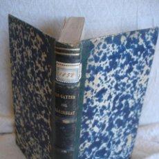 Libros antiguos: LO GAYTER DEL LLOBREGAT 1858. Lote 126369431