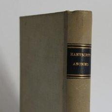 Libros antiguos: [COLECCIÓN DE POESÍAS.] - [MANUSCRITO.] SIGLO XIX.. Lote 123267710