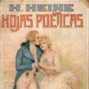 Libros antiguos: HEINE : HOJAS POÉTICAS (GASSÓ, S.F.). Lote 126716599