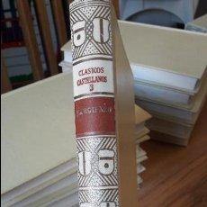 Libros antiguos: GARCILASO, CLASICOS CASTELLANOS DE ESPASA. ED. 1967. TAPA DURA. BIEN ESTADO.. Lote 126878923