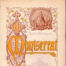 Libros antiguos: JACINTO VERDAGUER : MONTSERRAT - LLEGENDARI, CANÇONS, ODES (ALTÉS, 1899) CATALÁN - COMO NUEVO. Lote 127232971