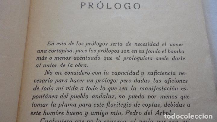Libros antiguos: PEDRO DEL ARBOL.ALMA DE ANDALUCIA.CANTARES.SEVILLA 1933. SERRANAS.SOLEARES.FANDANGOS - Foto 4 - 127262451