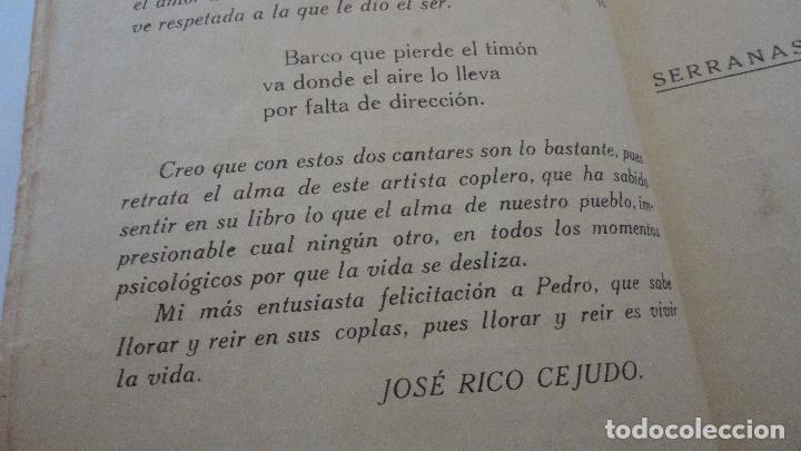Libros antiguos: PEDRO DEL ARBOL.ALMA DE ANDALUCIA.CANTARES.SEVILLA 1933. SERRANAS.SOLEARES.FANDANGOS - Foto 5 - 127262451