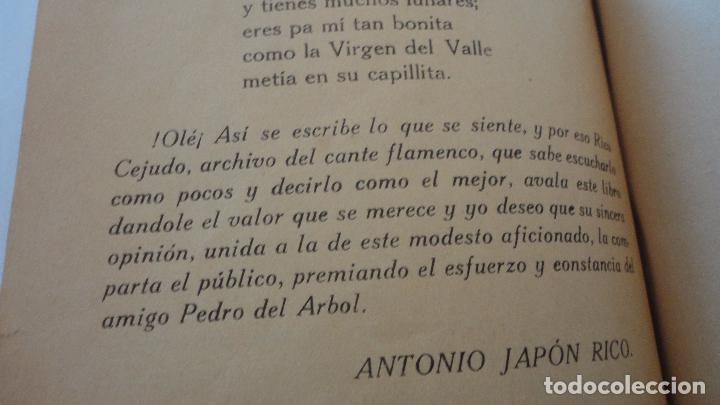 Libros antiguos: PEDRO DEL ARBOL.ALMA DE ANDALUCIA.CANTARES.SEVILLA 1933. SERRANAS.SOLEARES.FANDANGOS - Foto 7 - 127262451