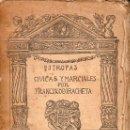 Libros antiguos: FRANCISCO DE IRACHETA : ESTROFAS CÍVICAS Y MARCIALES (1924). Lote 127832739