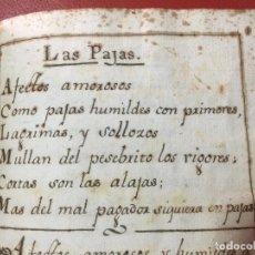 Libros antiguos: LIBRO MANUSCRITO DE POEMAS EN 1737 , S. XVIII. Lote 128001223