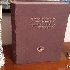 Libros antiguos: BUCÓLICAS, GEÓRGICAS Y ENEIDA (OPERA DE VIRGILIO).. Lote 128424087