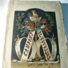 Libros antiguos: CANSONS ILUSTRADAS . APELES MESTRES . LIBR. ESPAÑOLA 1870 . CANCIONES ILUSTRADAS. Lote 128476043