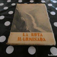 Libros antiguos: MIQUEL MELENDERES LA RUTA IL.LUMNINADA POESIA AÑO 1935 CORRECTO . Lote 128971059