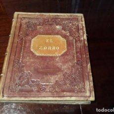 Libros antiguos: EL ZORRO POEMA DEL INMORTAL GOETHE ILUSTRADO POR KAULBACH .EDITOR M.GUIJARRO AÑO 1869 MADRID. Lote 129062375