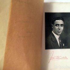 Libros antiguos: SABATER : EN LA NOCHE CALLADA. (1ª ED. 1926). (JOSÉ Mª SABATER, POETA JUANRAMONIANO). Lote 129302711
