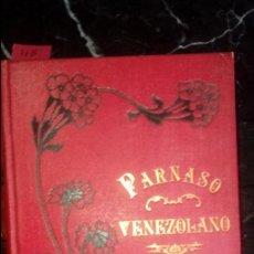 Libros antiguos: POESIA VENEZOLANA. POESÍA SELECCIONADA. LITERATURA SUDAMERICANA.. Lote 129374467