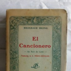 Alte Bücher - El Cancionero. Heinrich Heine. - 130202774