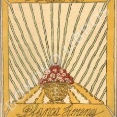Libros antiguos: JIMÉNEZ, BLANCA. RECITALES. Lote 130296539