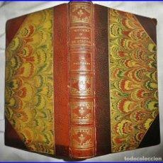 Libros antiguos: ANTIGUA EDICIÓN DE LOS TRIUNFOS, DE JOSÉ MARÍA DE HEREDIA. ELEGANTE ENCUADERNACIÓN.. Lote 130724714