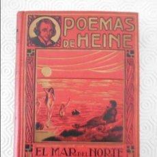 Libros antiguos: POEMAS. ENRIQUE HEINE. TRADUCCION CASTELLANA DE JOSE PABLO RIVAS. BARCELONA, CASA EDITORIAL MAUCCI. . Lote 130919304