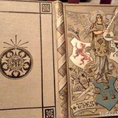 Libros antiguos: ESPECTACULAR TOMO 1883 TRES POESIAS EL ANGEL DE LA MUERTE ED. MAUCCI MUY BUEN ESTADO CONSERVACION . Lote 131001652
