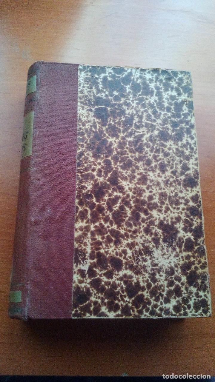 Libros antiguos: 1929 - LOS POETAS CAMPOAMOR Y QUEVEDO - SUS MEJORES VERSOS - 4 LIBROS ENCUARDENADOS - Foto 6 - 131350630