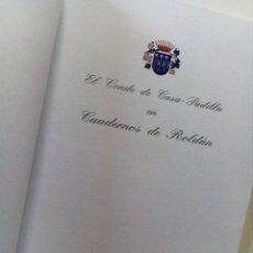 Libros antiguos: SEVILLA, CUADERNOS DE ROLDAN, CON DEDICATORIA DEL AUTOR.. Lote 131862506