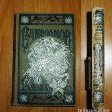 Libros antiguos: POESÍAS ESCOGIDAS DE D. RAMÓN DE CAMPOAMOR (BIBLIOTECA ARTE Y LETRAS) / ILUSTR. DE F. GÓMEZ SOLER. Lote 132257586