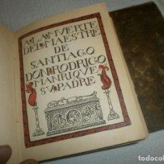Libros antiguos: LIBROS DE HORAS EDICIONES CORONA 1914 1917 ENCUADERNADOS DEL 1 AL 5 JORGE MANRIQUE - FRAY LUIS LEON. Lote 132807778