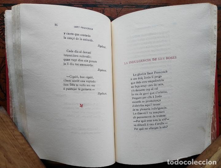 Libros antiguos: Sant Francesch Poema per Mossen Jacinto VERDAGUER - 1904 - Foto 5 - 132997726