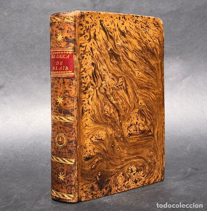1804 LECCIONES SOBRE LA RETORICA Y LAS BELLAS LETRAS - POESÍA (Libros antiguos (hasta 1936), raros y curiosos - Literatura - Poesía)