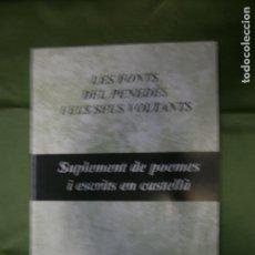 Libros antiguos: (F.1) SUPLEMETO DE POEMAS Y ESCRITOS EN CASTELLANO POR MANEL CÓRDOBA I MARTI, MANEL I TERRY DE LAS F. Lote 134515086