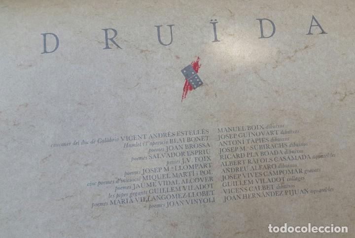 Libros antiguos: DRUïDA - 1984 - CAIXA AMB 11 LLIBRETS DE POESIA I DIBUIXOS - Foto 3 - 135007278