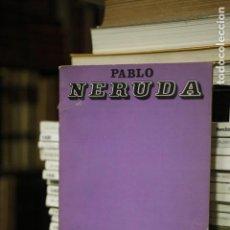 Libros antiguos: ELEGÍA. PABLO NERUDA. LOSADA. 1974. BUENOS AIRES. Lote 136638454