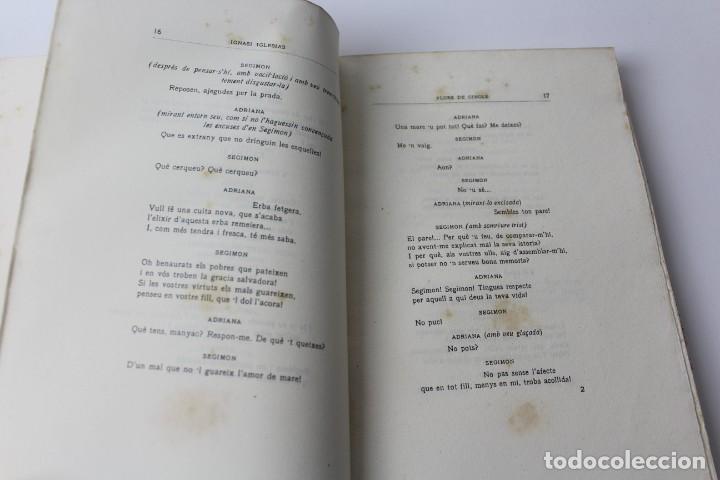 Libros antiguos: L- 3813. FLORS DE CINGLE, IGNASI IGLESIAS. 1912. EXEMPLAR NUMERAT. - Foto 4 - 137640550