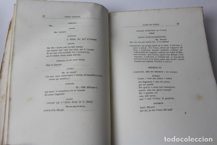 Libros antiguos: L- 3813. FLORS DE CINGLE, IGNASI IGLESIAS. 1912. EXEMPLAR NUMERAT. - Foto 5 - 137640550