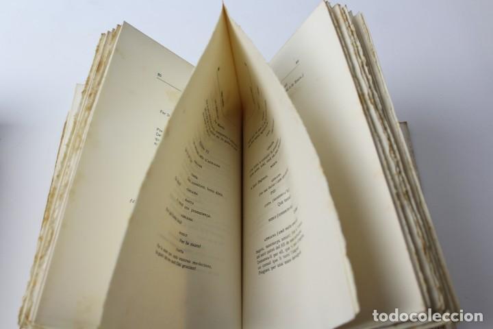 Libros antiguos: L- 3813. FLORS DE CINGLE, IGNASI IGLESIAS. 1912. EXEMPLAR NUMERAT. - Foto 6 - 137640550