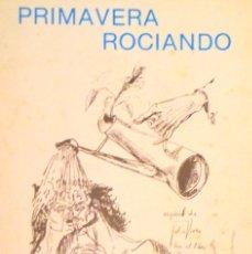 Libros antiguos: PRIMAVERA ROCIANDO. JOSÉ RAÚL DÍAZ VIERA (1980). POEMAS/POESÍA (20,5 X 18 CM), 115 P.. Lote 137675626