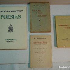 Libros antiguos: LOTE CURROS ENRÍQUEZ. 4 PUBLICACIONES. Lote 137902402