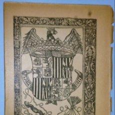 Libros antiguos: COPLAS DE ZAMBARDO DE JUAN DEL ENZINA. Lote 138635598