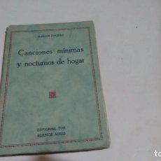 Libros antiguos: MARCOS FINGERIT - POESIAS. Lote 141150738
