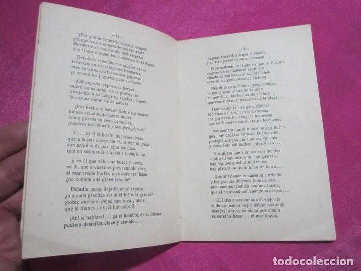 Libros antiguos: EL POEMA LUSTRAL SAAVEDRA LASTRA FIRMADO AUTOR LUARCA 1923 - Foto 9 - 141724358